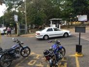 Entrada Principal Hospital Central San Cristóbal.