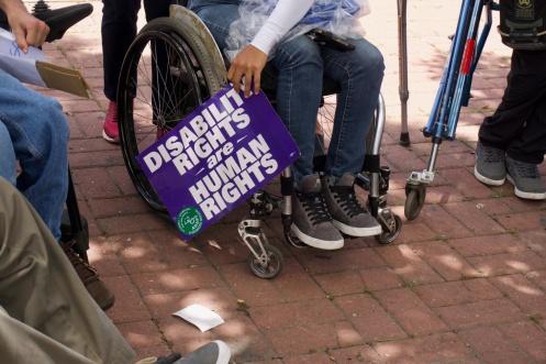 PhotoSeries | Concentración | Derechos Personas con Discapacidades.
